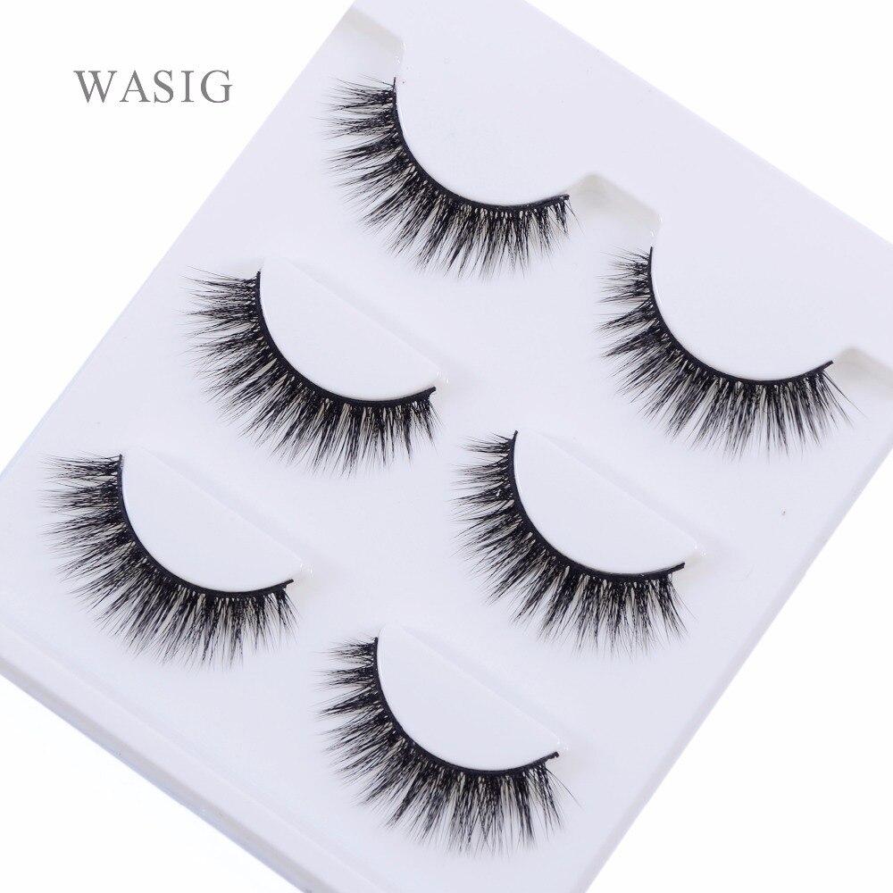 New 3 pairs natural false eyelashes fake lashes long makeup 3d mink lashes extension eyelash mink eyelashes for beauty 3D-02