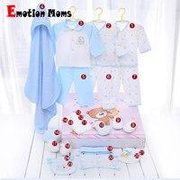 Emoção Mães 0-6meses bebê recém-nascido meninas roupas de algodão 24 peças crianças baby girl conjunto de roupas meninos do presente do bebê set sem caixa