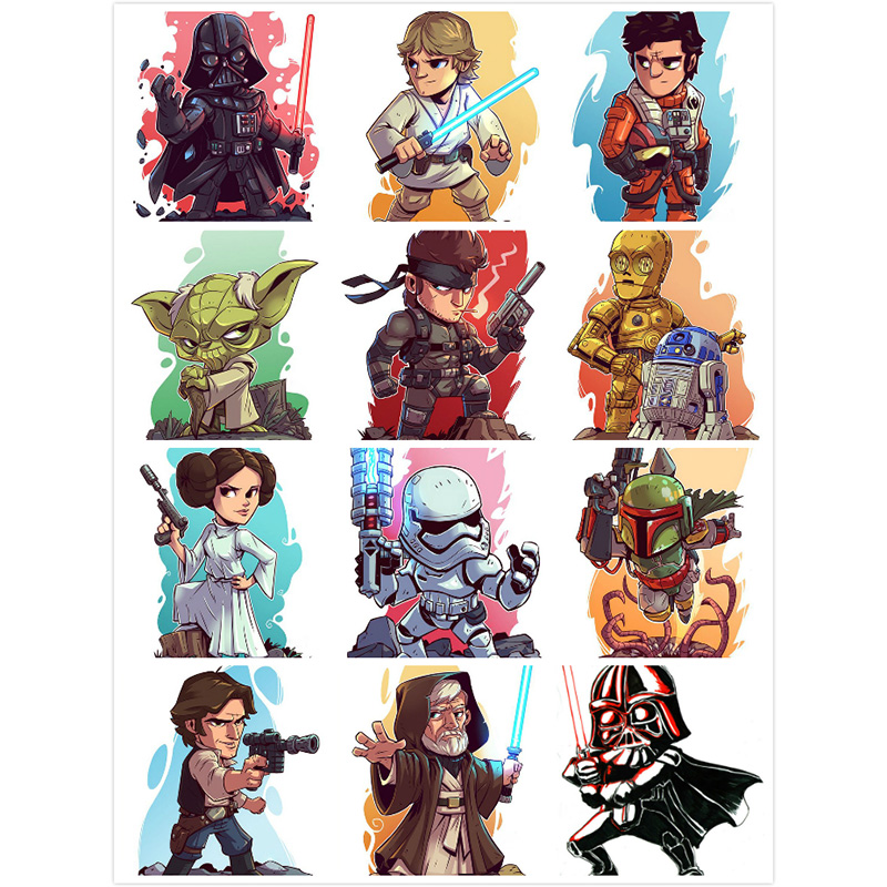 YI BRIGHT Full Square/Round Drill 5D DIY Diamond Painting Cartoon Star Wars 3D Embroidery Cross Stitch 5D Home Decor Gift image