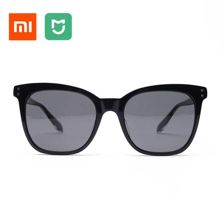 Original Xiaomi Mijia TS Sunglasses Cat-eye Version Nylon Polarized glasses 100% UV-Proof Light For Man Woman Outdoor Travel цена 2017