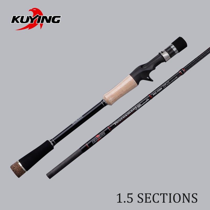 KUYING 1.5 Secciones Torneo 1.77m 2.16m Caña de pescar de fundición - Pescando - foto 2