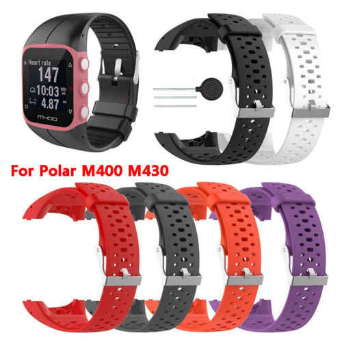Replacement Silicone Wrist Band Strap Bracelet for Polar M400 M430 Smart Watch Wristband Watchband Accessory Sports