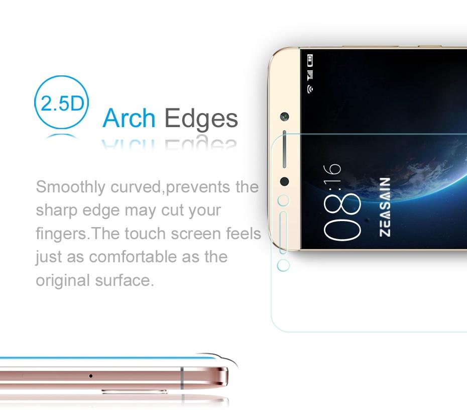 [Paquete de 2] Original ZEASAIN HD Clear 2.5D Premium Protector de - Accesorios y repuestos para celulares - foto 3