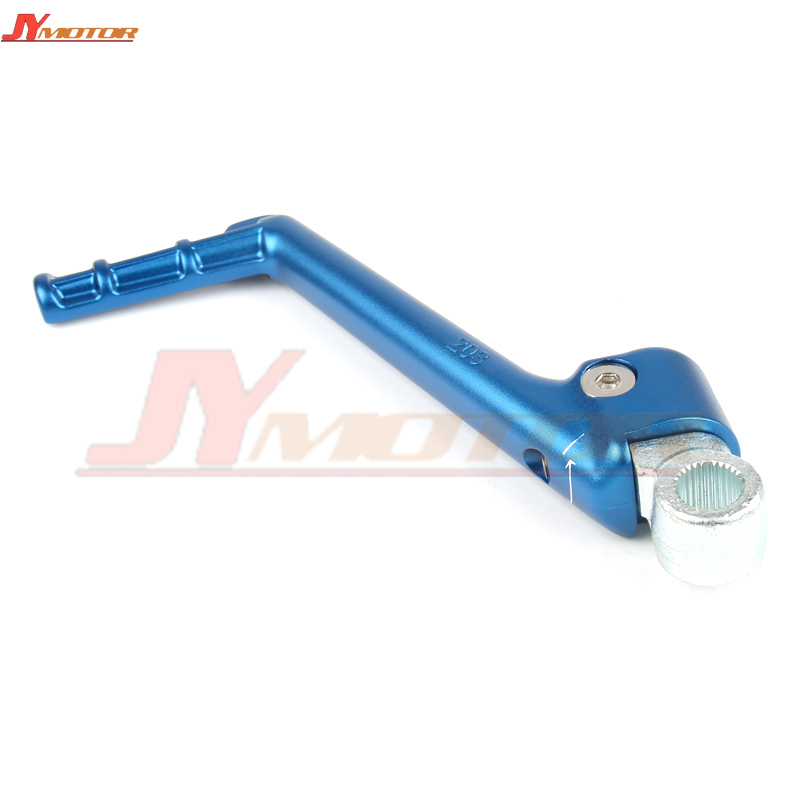 Motorcycle Forged Kick Start Starter Lever Pedal For YZ125 YZ 125 1986 2016 2010 2011 2012 2013 2014 2015 Off Road Dirt Bike