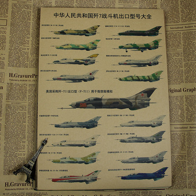 Retro Aircraft and Vehicles Kraft Paper Poster