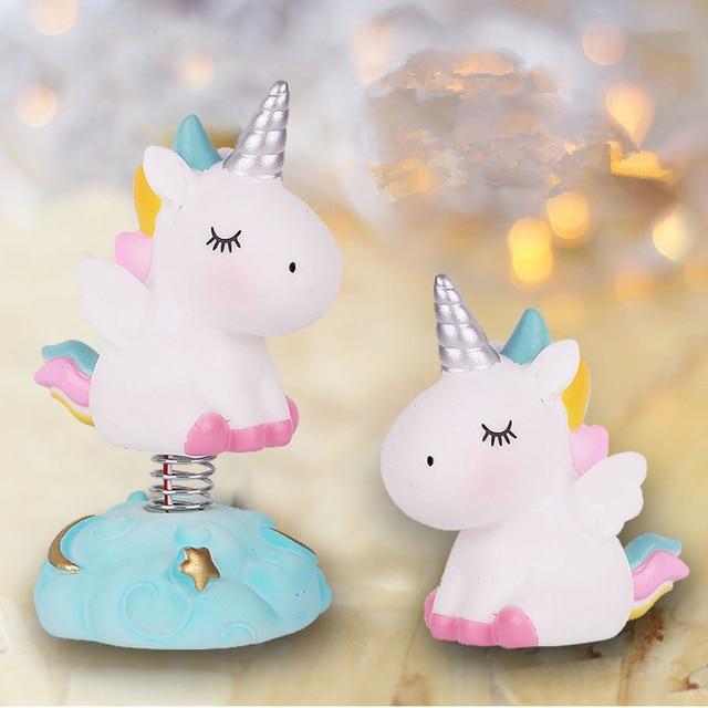 Babyshower Illuminated Unicorn Cake Topper Party Decor