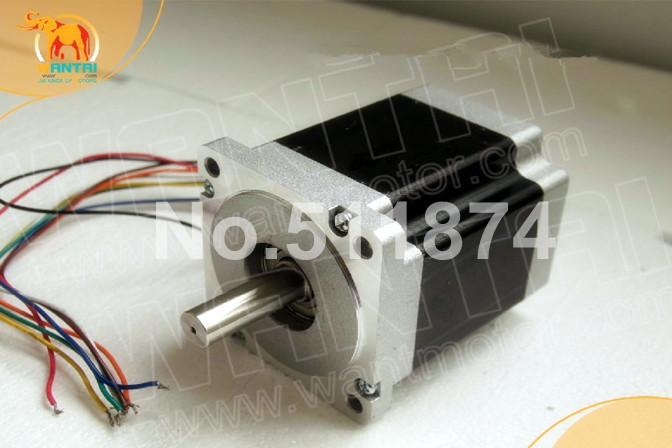 Great Motor! CNC Wantai Nema34 Stepper Motor Unipolar 85BYGH450D-007 2A 94mm 623oz-in CE ROHS ISO Engraver Printer Machine