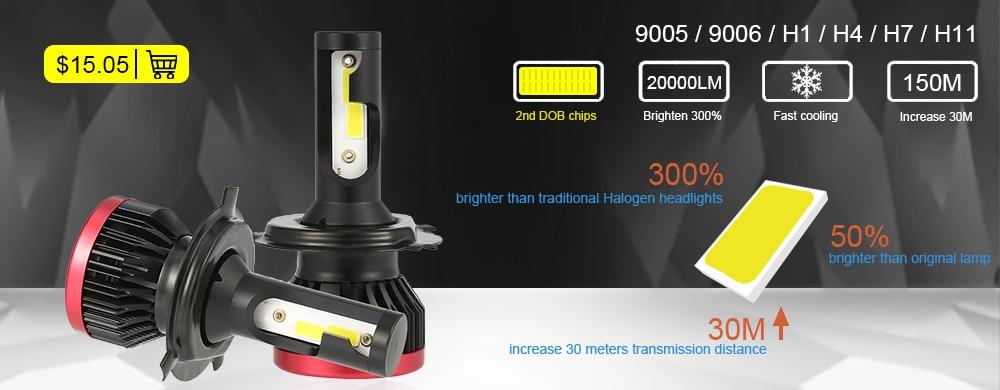 HTB1FwWAM4TpK1RjSZFKq6y2wXXaO 2PCS Car headlight Mini Lamp H7 LED Bulbs H1 LED H8 H11 Headlamps Kit 9005 HB3 9006 HB4 6000k Fog light 12V LED Lamp 36W 8000LM