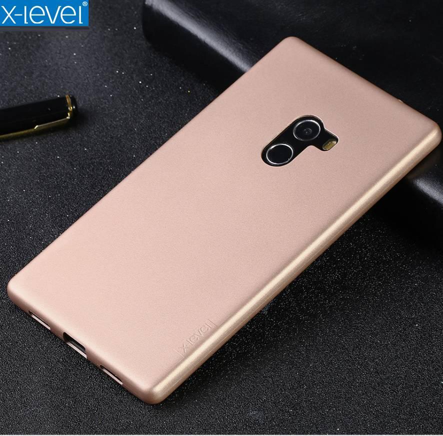 X-Level Brand Guardian Series Matte TPU Shell Back Case For Xiaomi Mi Mix Ultra-Slim Light Phone Cover For Xiaomi Mix