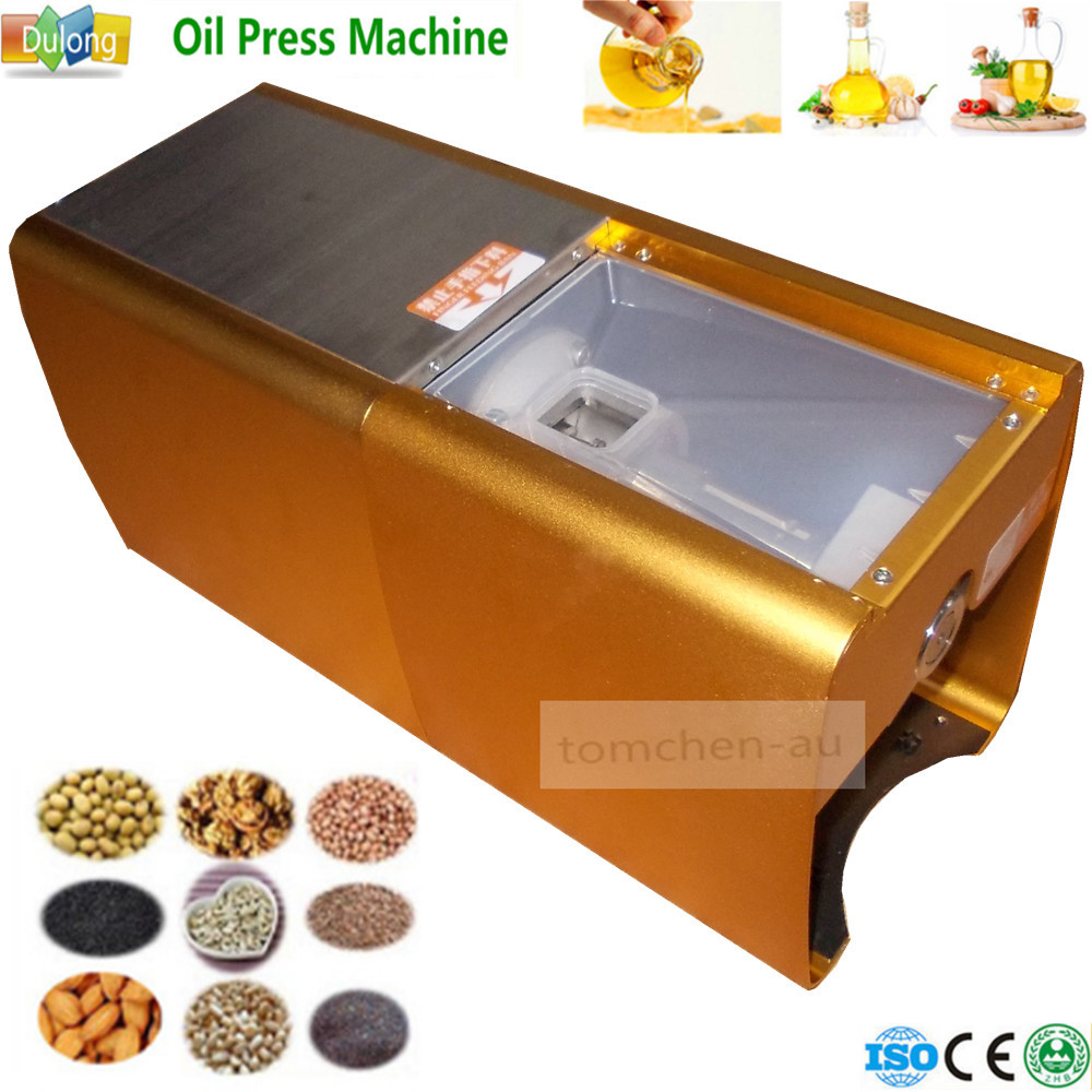 1PC 220V hand using Seed Oil Press Machine Home Use Peanut Oil Pressing Presser Machine cold-pressed hot-pressed machine