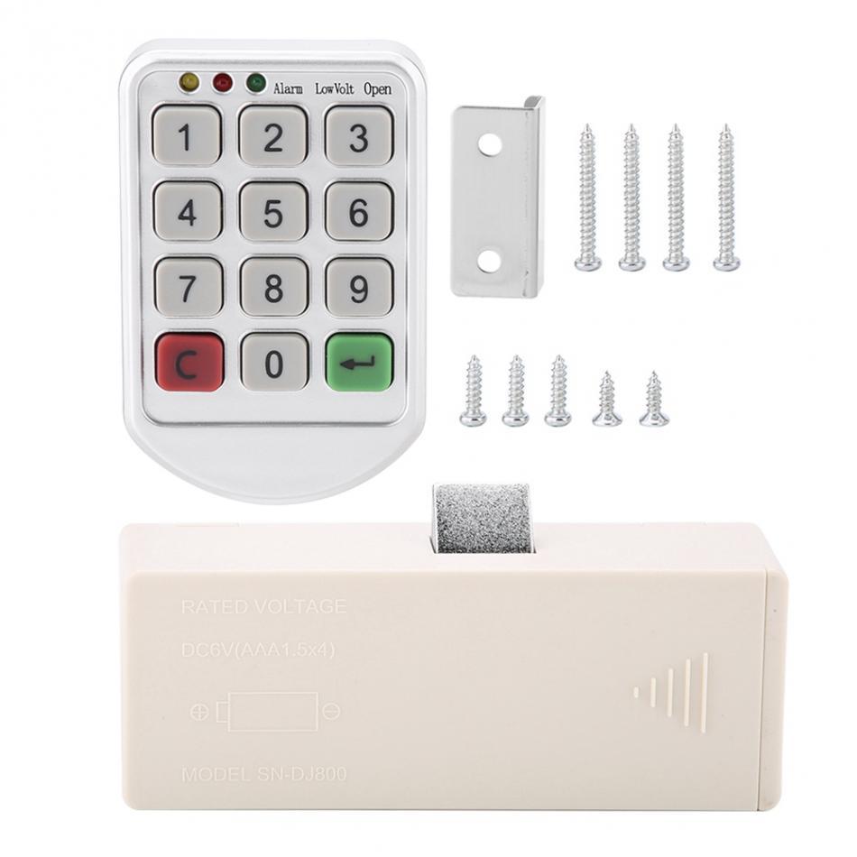 HTB1FwWQaffsK1RjSszgq6yXzpXa9 ABS Plastic Panel Digital Electronic Intelligent Password Keypad Number Cabinet Door Code Lock fechadura digital smart lock