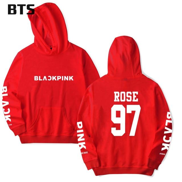 BTS Sweatshirt Women/Men Blackpink Autumn Winter Fans Hoodies 4XL