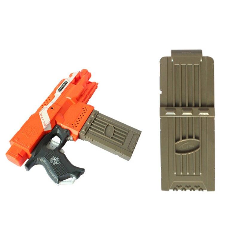 عالية الجودة 12 تحميل كليب المجلات استبدال مجلة البلاستيك لعبة ل Nerf الرصاص ملحقات المسدس ضربة رصاصة طرية كليب
