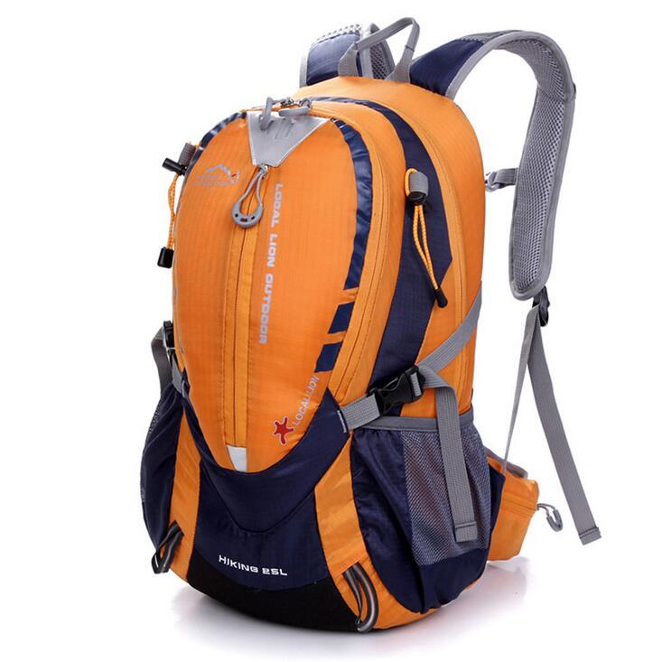 25l a prova dwaterproof agua nailon montanhismo mochila ao ar livre da bicicleta mochilas de acampamento