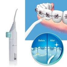 8ac4853f7 Portátil Dental Higiene Oral Cleaner Poder Jato de Água Dental Floss Escolha  Limpeza Irrigador Dente Boca Cuidados Cleaner Próte.