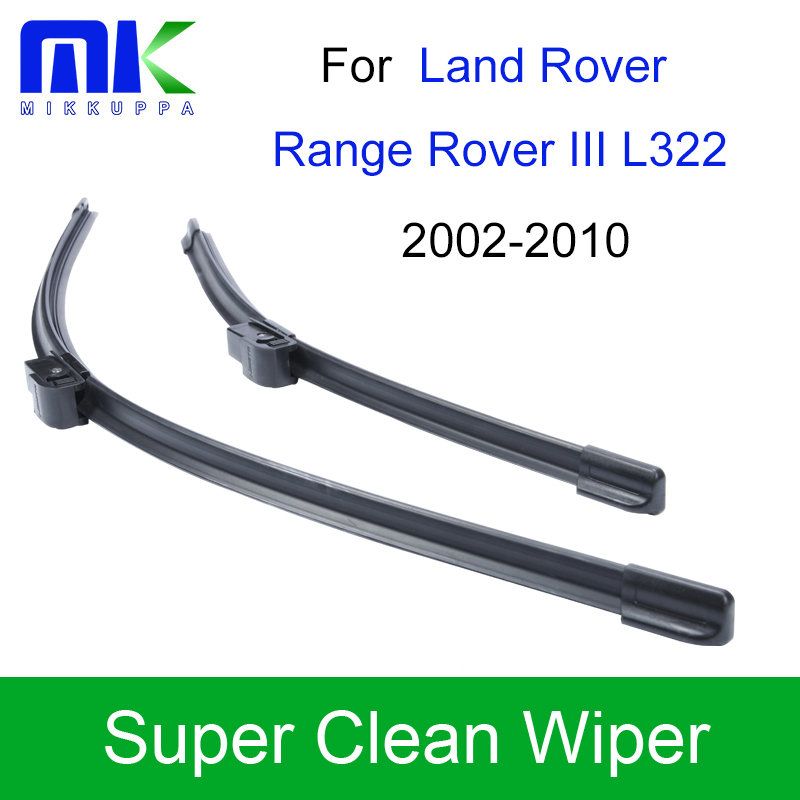 Car Wiper Blades For Land Rover Range Rover III L322 2002 2003 2004 2005 2006 2007-2010 Windshield Wipers Auto Car Accessories