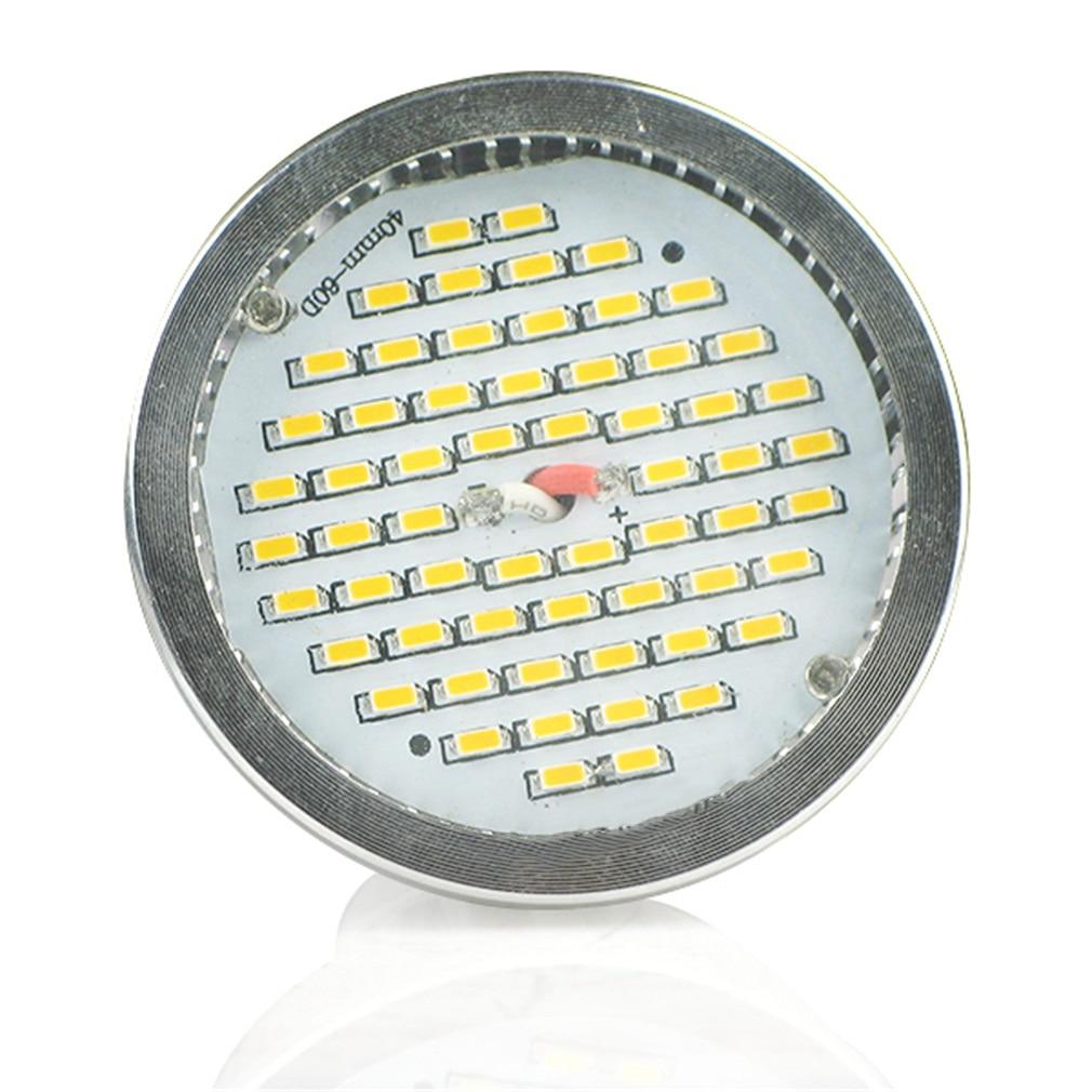 GU10 8W 60 SMD LED Warm White Spot Light Bulbs Bright Lamp Super Deal! Inventory Clearance luo db02 gu10 8w 600lm 3000k 16 x smd 5630 led warm white light spotlight silver 85 265v