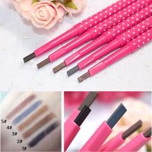 Shaper Pen-Powder Enhancers Eyebrow-Pen Makeup-Tool Pencil-Eye Waterproof Women 5colors