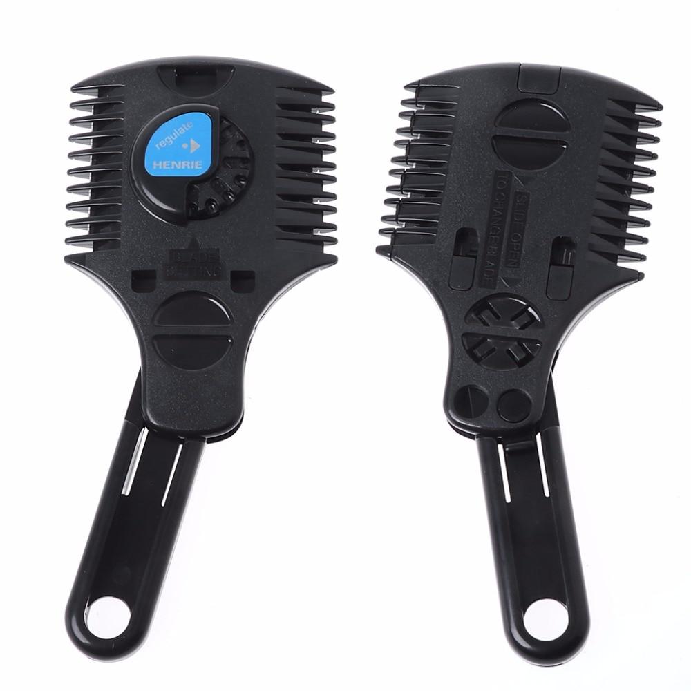 Razor Blade Hair Cutter Hairstyle Razor Comb NE5510 New 15902-2