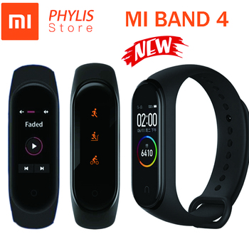 Original Xiaomi Mi Band 4 Smart Band Sport Fitness Tracker Pedometer Heart Rate Monitoring Fitbits Bracele for xiomi Mi Band 4 3