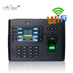 ZK iClock900 WIFI TCP/IP Control biométrico de acceso de huellas dactilares y tiempo de asistencia grabadora de tiempo con batería de respaldo y cámara