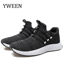 YWEEN tenis masculino adulto men casual shoes high quality fashion mens sneakers Fly Knit Spring Autumn Men Shoes