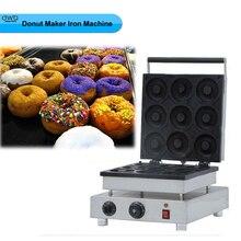 1PC 110v or 220V 1800W 9pcs Electric Commercial 9cm diameter Donut Doughnut Machine Maker Iron Baker;Donut maker machine