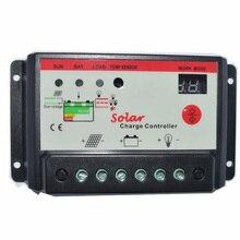 цена на Solarparts 1x 10A 12V/24V  solar controller Solar panel module cell system DIY solar kits boat yacht RV motorhom marine sunpower