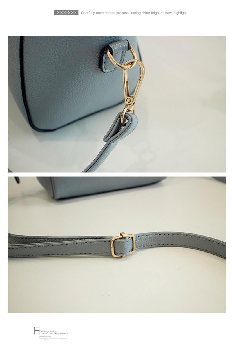 Trendy Japanese and Korean simple shell bag Fashion matches everything female bag small bag single shoulder Messenger bag 44
