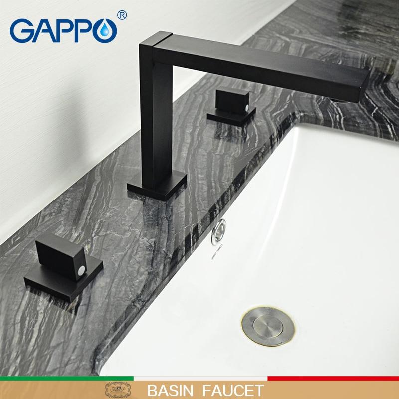 GAPPO Basin faucets basin mixer tap bathroom faucet wall mounted water sink mixers faucet bathroom waterfall