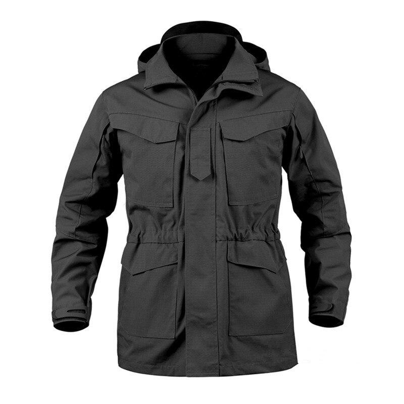 Hommes tactique veste nouveau printemps automne US armée M65 militaire champ veste Trench manteaux à capuche Casaco Masculino coupe-vent