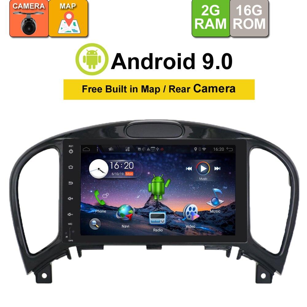 Lecteur Radio de voiture Android 9.0 Octa Core pour Nissan Juke 2004-2016 bande multimédia stéréo de Navigation GPS de voiture