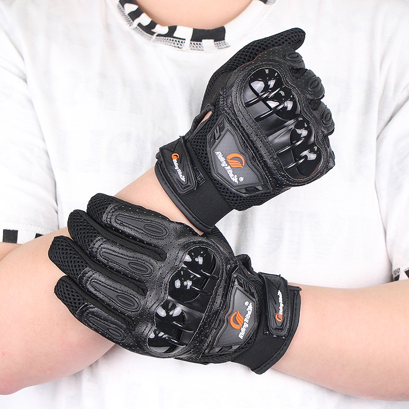Männer Frau Reiten Handschuhe Motorrad Fahrrad Racing Sommer Atmungs Nicht-slip Touchscreen Rider Biker Hände Schutz Getriebe MCS-47