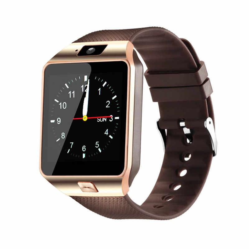 Bluetooth חכם שעון Smartwatch DZ09 אנדרואיד שיחת טלפון Relogio 2G GSM SIM TF כרטיס מצלמה עבור iPhone HUAWEI סמסונג PK A1 GT08