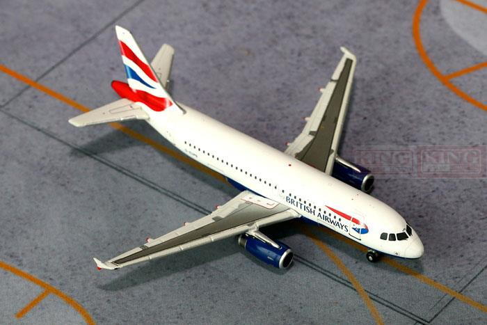 GJBAW1403 GeminiJets British Airways G-EUPB 1:400 A319 commercial jetliners plane model hobby gjcca1366 b777 300er china international aviation b 2086 1 400 geminijets commercial jetliners plane model hobby