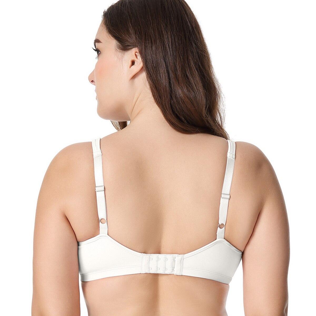 Womens Smooth Full Coverage No Padding Underwire Seamless Plus size Minimizer Bra