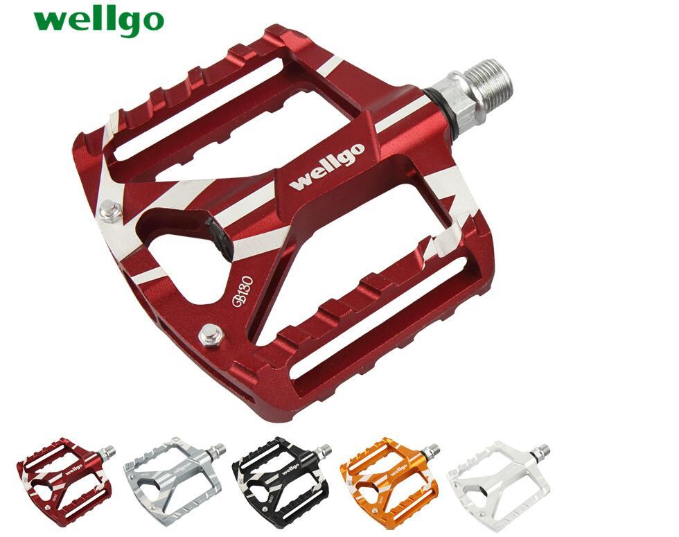 Wellgo B130 MTB Road / Trekking / City Bike bicycle Pedal 2 DU Bearing MTB Clipless Peda ...