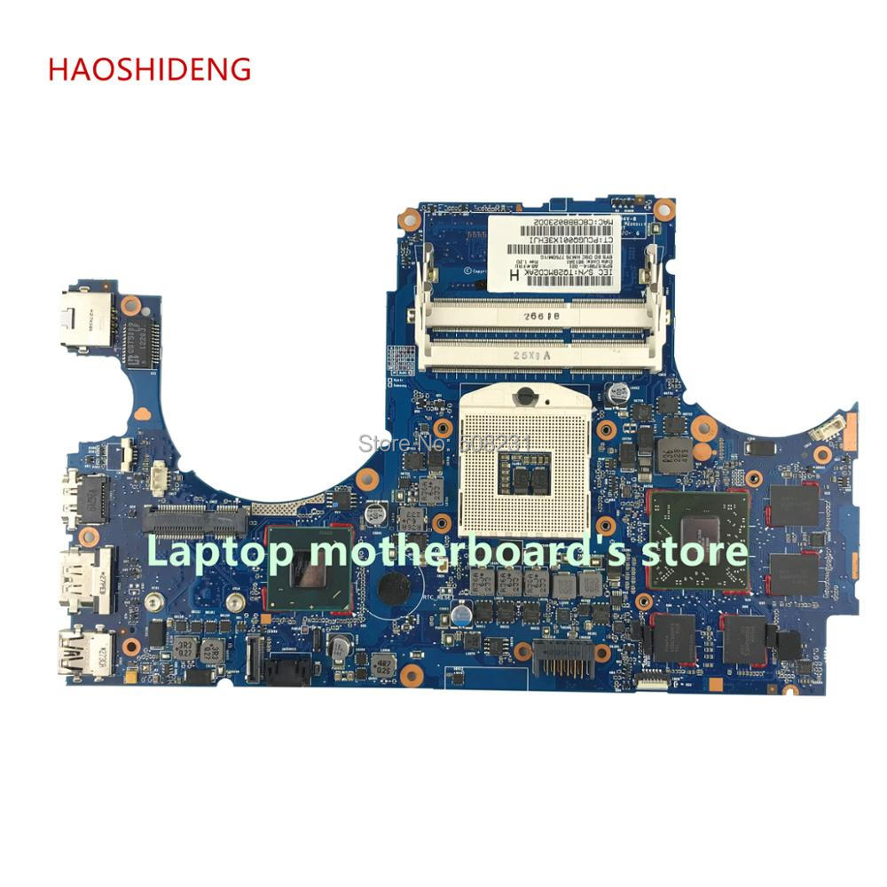 HAOSHIDENG 679814-001 mainboard for HP ENVY 15 15-3200T laptop motherboard with HM76 7750M/1G All functions fully Tested free shipping 765736 501 for hp envy 15 q 15t q motherboard with sr1pz i7 4712hq gtx 850m 4gb all functions 100