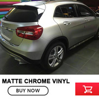 Free Shipping 5x65FT Roll Ice Film Silver Chrome Matte Vinyl Metallic Film Chrome Vinyl Film Foil