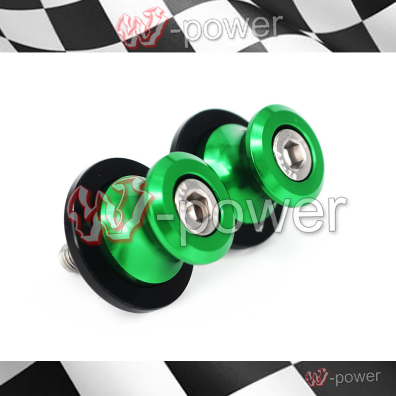 for <font><b>kawasaki</b></font> Z900 <font><b>Z</b></font> <font><b>900</b></font> <font><b>2017</b></font> swing arm Sliders Motorcycle CNC Swingarm Spools stand screws Slider para moto motocicleta M8 image