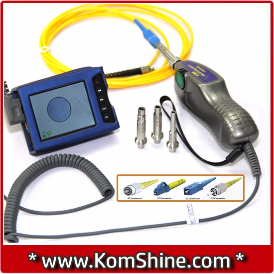 Komshine KIP-500V Optic Fiber Inspection Microscope/ Cable Fiber Optic Camera