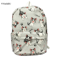 Cartoon Chi S Cat Backpack School Bags Chi S Sweet Home Anime Cosplay Cute Cat Rucksack