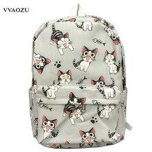 Cartoon Chi Katze Rucksack Schultaschen Chi Sweet Home Anime Cosplay Nette Katze Rucksack Schultasche für Kinder Daypack
