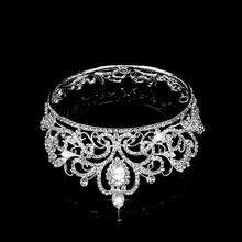 Wedding Bridal Pageant King Crown Tiara Rhinestone Diamante Headpiece Jewelry