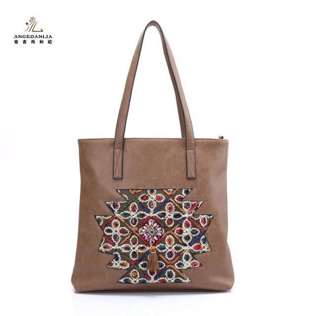 Women Embroideried Ethnic Boho Bohemia Hippie Handbag Gypsy Tote Bags Bag Summer Lady Beach Shoulder