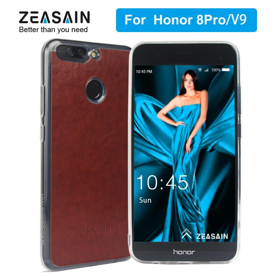 Original ZEASAIN Fashion Crystal TPU fodral för Huawei Honor 8 - Reservdelar och tillbehör för mobiltelefoner
