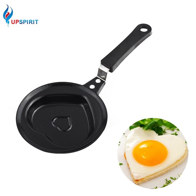 Upspirit Mini Cast Iron egg Frying Pan Non-stick Griddles & Grill Pans Panela Saucepan Skillet Sartenes Omeleteira Cooking Pot