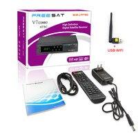 5 개 북미 DVB-S2 ATSC 위성 TV 수신기 Freesat V7 콤보 ATSC