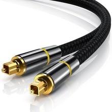 купить Audio Cable Optical Line for TV DVD Projector Amplifiers to HI-FI System Digital 1m 1.5m 2m 3m Sound Fiber Optical Cable Toslink по цене 470.25 рублей