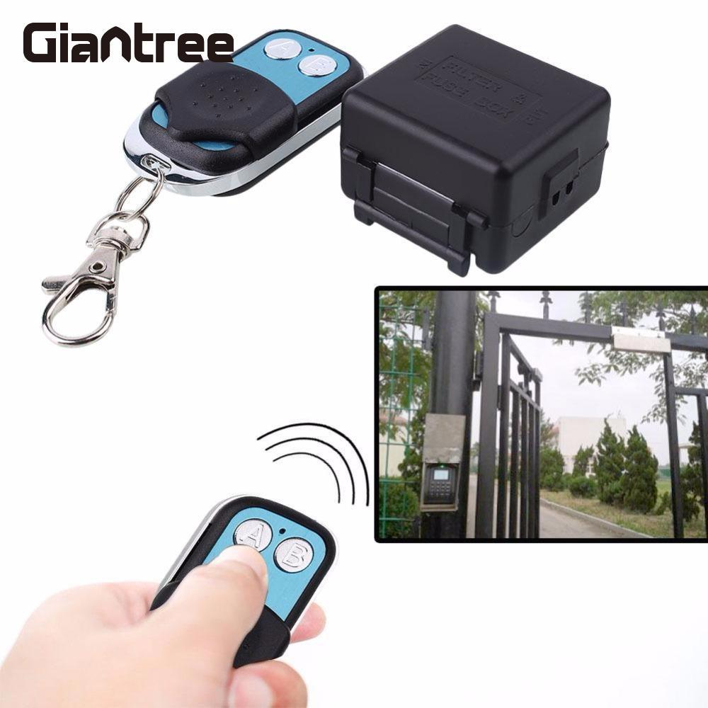 Giantree Electric Lock remote control+remote unlock Door Access Switch Electric Control Lock For Access Control Door Gate Entry saful 12v electric lock remote control remote unlock door access switch electric control lock gateway access control system